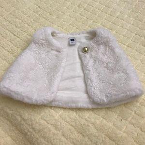Janie and Jack Faux Fur Vest Infant 6-12 month